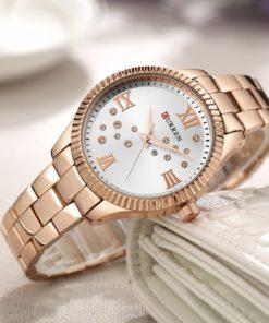 curren-rose-gold-dial-women-watches-4
