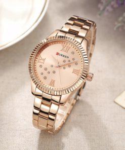 curren-rose-gold-dial-women-watches-5