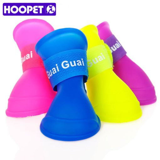hoopet-pet-rain-shoes