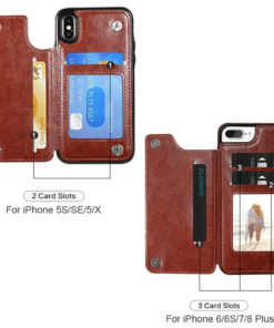 leather-multi-card-holder-phone-case-for-iphone-4