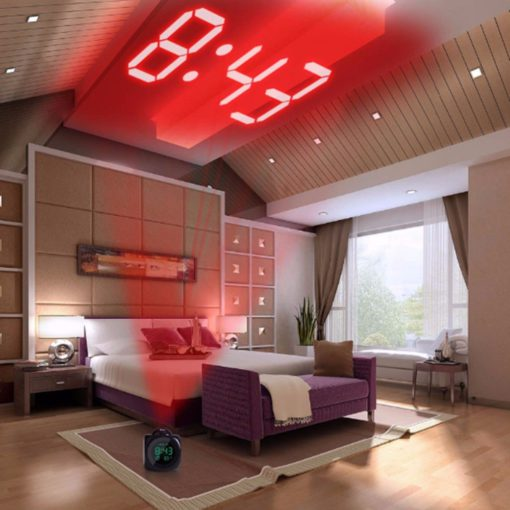 time-display-projecting-alarm-clock