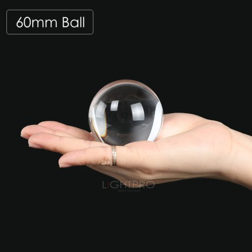 crystal lens ball