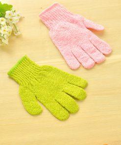 2pcs Shower Exfoliating Gloves