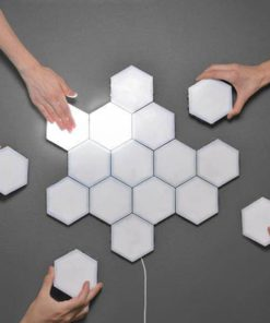 Modular Touch Sensitive Hexagonal Lamp